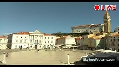 Live Webcam from Piran - Slovenia
