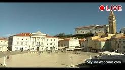 Live Webcam from Piran - Slovenia