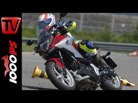 Honda NC750X Test 2016 | Big Enduro Melken Foto