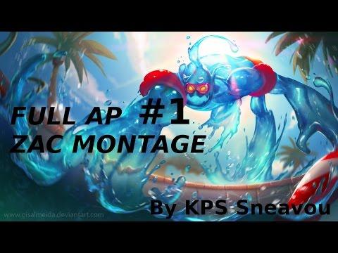 AP ZAC IS AMAZING - MONTAGE #1 [League of Legends s5]