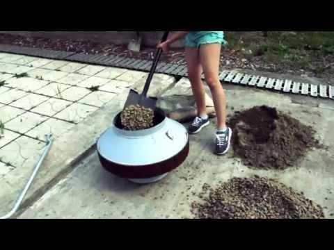 Ручная бетономешалка своими руками - видео 2015