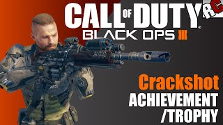 Call of Duty: Black Ops 3 | Crackshot Achievement/Trophy Guide - Shot 5 enemies from over 100m