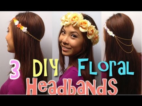 HOW TO: Easy DIY Flower Headbands