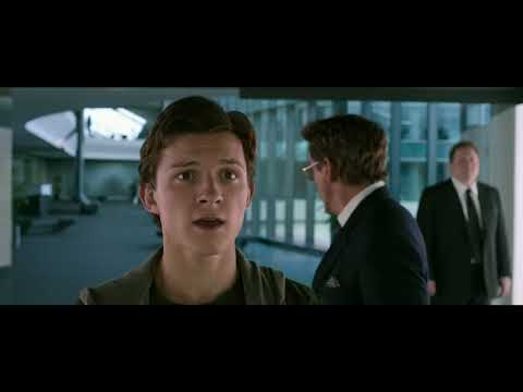 Spiderman Gets The Iron Spider Suit + Tony And Pepper Gets Engaged - Spider-Man : Homecoming