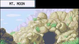 Pokemon Red - The Rat Race - Episode 3 - Mt. Moon exploring