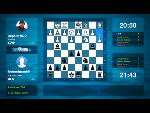 Chess Game Analysis: сергей1972 - benoniman69 : 0-1 (By ChessFriends.com)