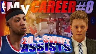 NBA 2K15 MyCareer - ROOKIE OF THE YEAR? & 20+ Swift Assists