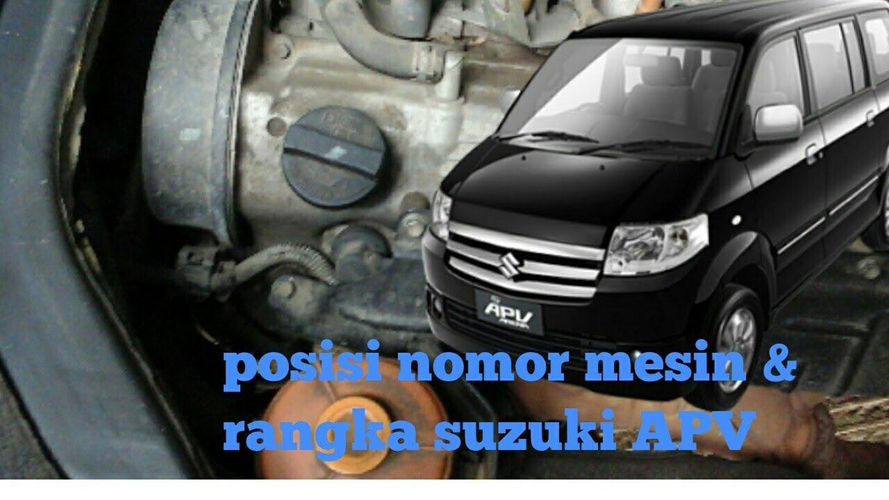 Posisi Nomor Mesin Grand New Avanza Harga 2015 Bekas Rangka Suzuki Apv