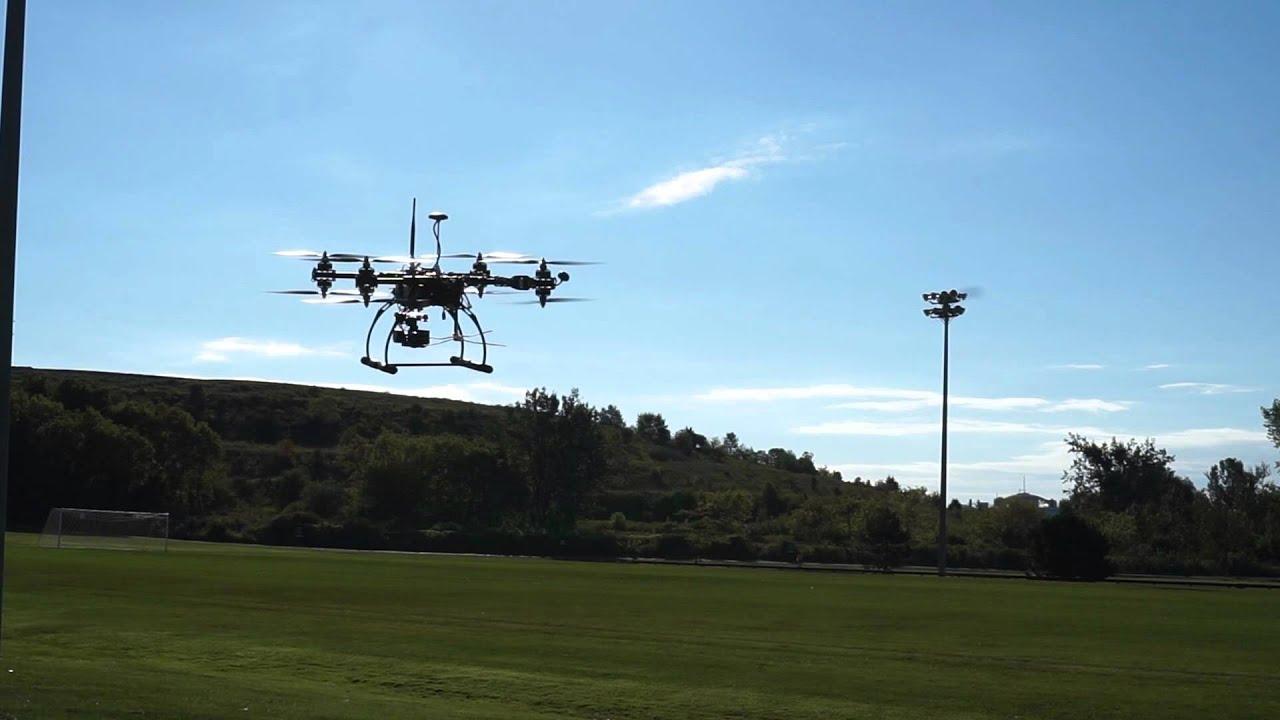 Pixhawk Multicopter X8 Crash