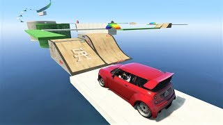 GTA 5 Online - Breathtaking Mini Cooper Parkour