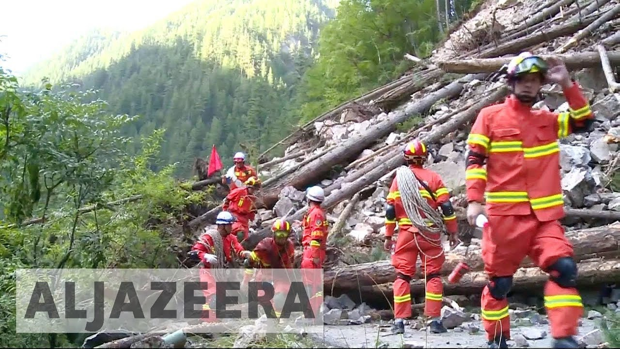 China ramps up earthquake rescue efforts