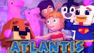 Atlantis Adventures - Secret Base & Council of Atlantis! (Minecraft Roleplay) #9