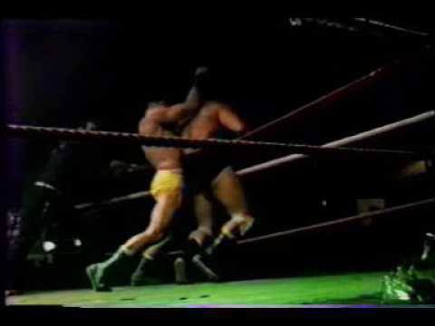 Franz van Buyten vs Dave Taylor (Hamburg 10/5/1986) - Piratenkampf