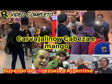 !! El Impelable Escrache ¡¡ Que Le Hicieron A CARVAJALINO Y A CABEZA E MANGO EN ARGENTINA [completo]