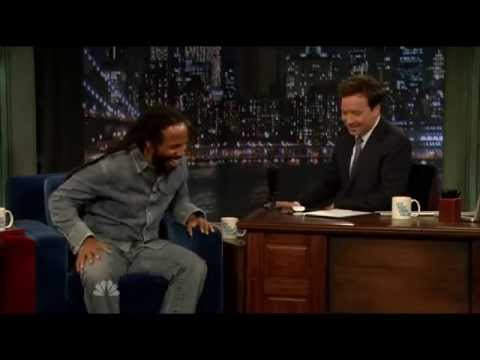 Late Night with Jimmy Fallon - Ziggy Marley 5/9/2011 -i-