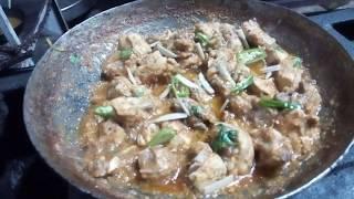 Chicken Karahi Special Restaurant Recipe !! Street Food Taste of Pakistan / India !!