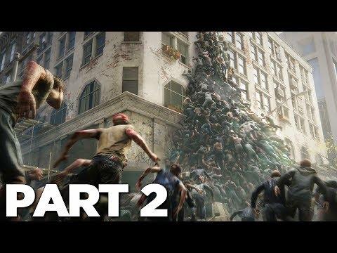 WORLD WAR Z Walkthrough Gameplay Part 2 - NEW YORK (WWZ Game)