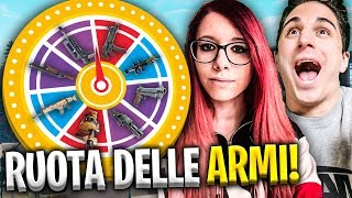 ANIMA E KROATOMIST NELLA RUOTA DELLE ARMI CHALLENGE! Fortnite Battle Royale