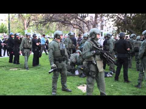 *RAW* Denver Militarized Police Invasion