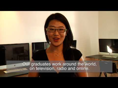 Nancy Shen Reviews Broadcast Journalism School (Chinese)