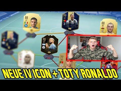 Fifa 19: Ganz neue IV ICON + 99 TOTY Ronaldo und 97 TOTY im Fut Draft! - Ultimate Team