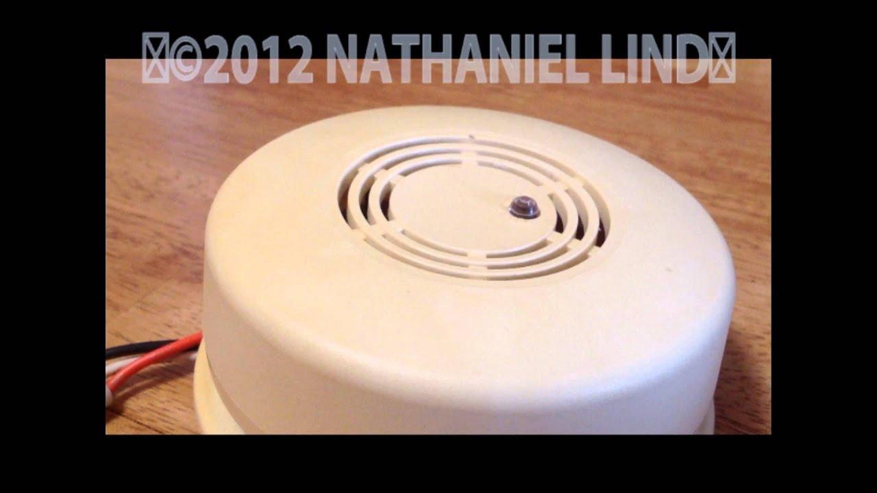 Firex Smoke Detector Wiring Diagram Subaru Impreza Radio Fxw 1 Alarm Youtube