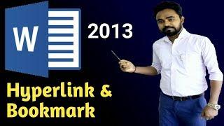 how to use hyperlink and bookmark in word