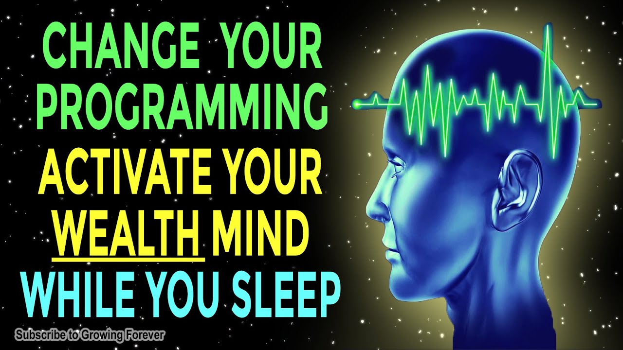 ACTIVATE Your WEALTH Mind While You SLEEP ➤ Subconscious Mind Programming  For Money & Abundance