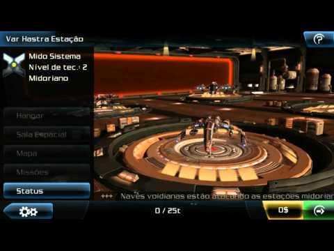 Meus primeiros 26 minutos no Galaxy On Fire 2 HD