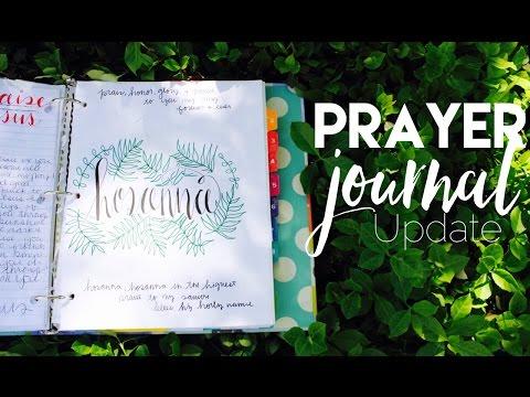 PRAYER JOURNAL Walk Through UPDATE & My...