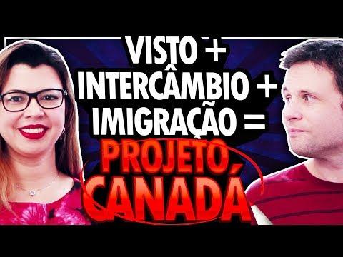 VISTO + ESTUDO + IMIGRAÇÃO = TUDO JUNTO PARA O PROJETO CANADÁ