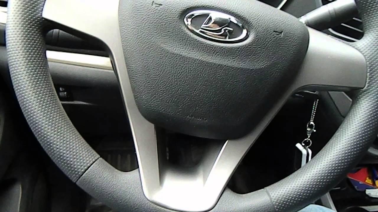Lada Vesta мультируль - YouTube