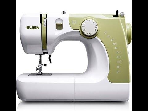 Aula de manuseio máquina de costura Elgin Supéria JX-2050