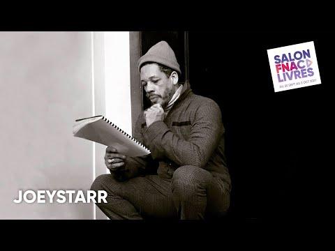 Youtube: Salon Fnac Livres 2021: JoeyStarr, quand le rappeur retombe en enfance