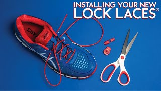 Lock Laces® Installation Instructions - How to Install Your Lock Laces®