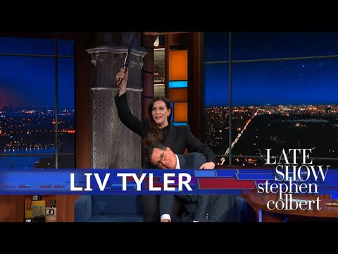 Liv Tyler Makes Stephen's 'LOTR' Dream Come True