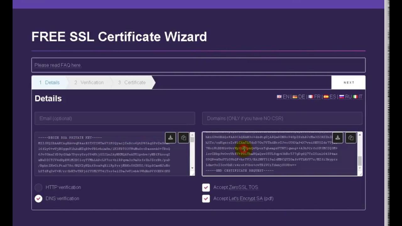Free ssl certificaite web hosting multi domains zerossl free ssl certificaite web hosting multi domains zerossl 1betcityfo Images