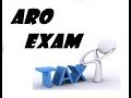 ARO EXAM ( Technical part )