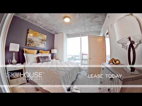 Galleria Houston Apartments  Skyhouse River Oaks One Bedroom Model Timelapse