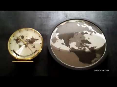 The SACCVS Handless World Clock