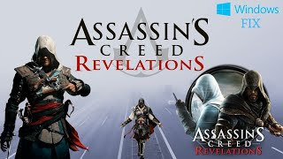 Assassin's Creed Revelation Gold Edition Windows 10 Fix Game not Opening Issue !!