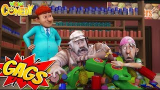 Chacha Bhatija Cartoon in Hindi | New Action Gags - 05 | New Cartoons | Wow Kidz Comedy