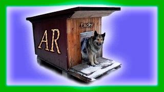 Утепленная будка для собаки зимой в мороз / Шторка для лаза из ПВХ завесов
