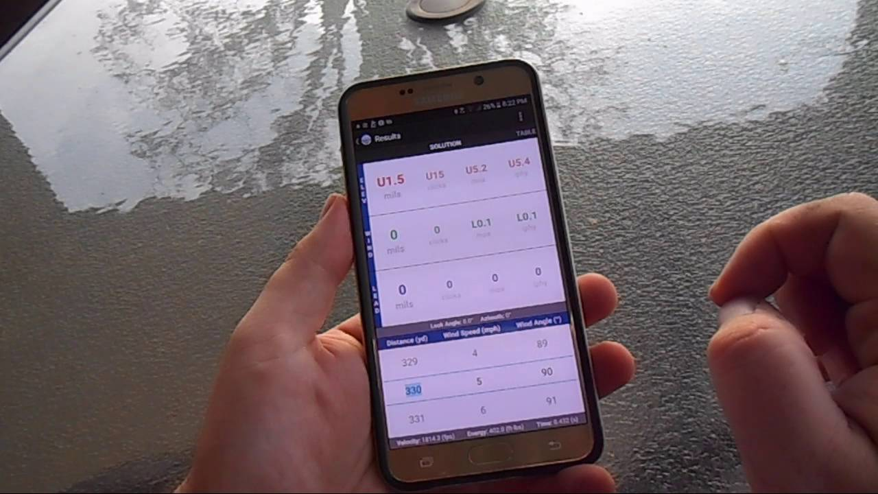Tutorial: Shooter Ballistic Calculator - Do smartphone apps work?