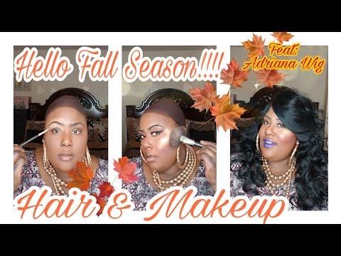 Fall Hair & Makeup Feat: Adriana Wig