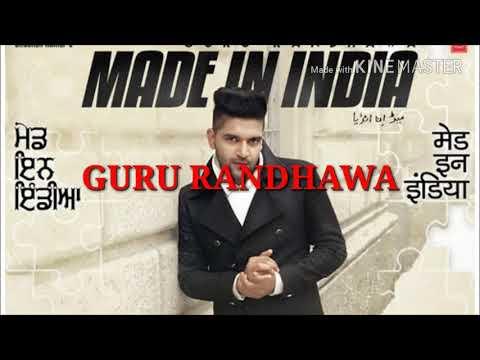 01 Made in india New mp3 song 2018 guru randhawa
