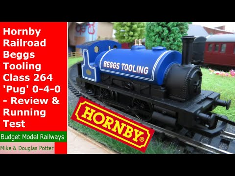 Hornby Railroad Beggs Tooling Class 264 'Pug' 0-4-0 - Review & Running Test