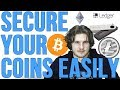 KEEP YOUR BITCOIN/ALTCOIN SAFE! - Ledger Wallet Nano S Tutorial