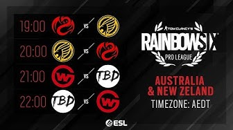 Rainbow Six Pro League – Season XI – APAC (ANZ)