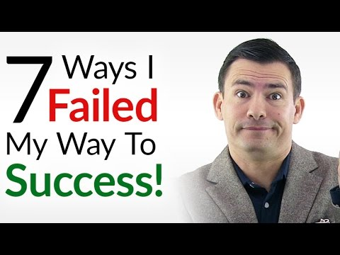 7 Ways I Failed My Way To Success | Happy 2017 New Year!